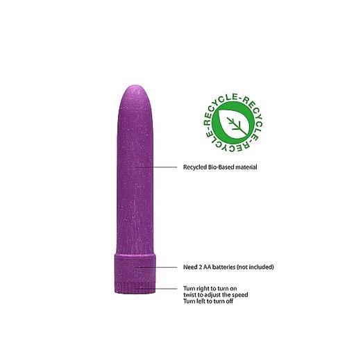 Natural Pleasure Biologisch Afbreekbare Mini Vibrator Compact en Milieuvriendelijk