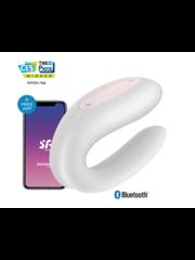 Satisfyer Satisfyer Double Joy Wit incl. Bluetooth en App