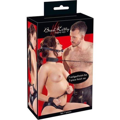 Bad Kitty Bondage BDSM Set 7 Delig voor Koppels