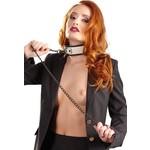 Bad Kitty Choker Halsband met Ketting met Ribbels
