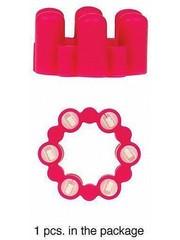 Jeez Toys Sixshot Vibratie Penis Ring