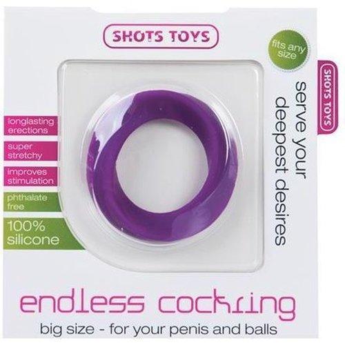 Shots Toys Endless Cockring Stimulerend Big