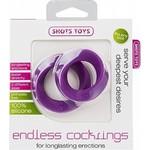 Shots Toys Endless Cockring Stimulerend Set
