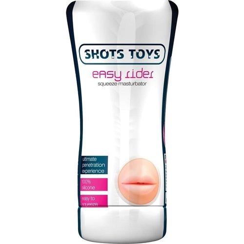 Shots Toys Easy Rider Kunst Mond Masturbator