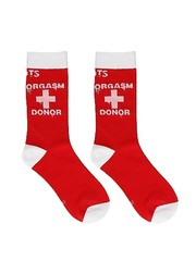 Sexy Socks Happy Socks Orgasm Donor