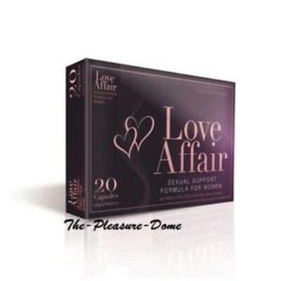 Love Affair Vegan Libido Pillen voor Vrouwen 20 stuks