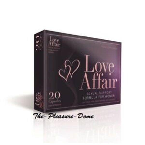 Love Affair Love Affair Vegan Libido Pillen voor Vrouwen 20 stuks