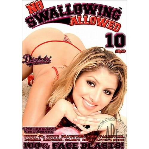 Vibies DVD No Swallowing Allowed - Vol. 10