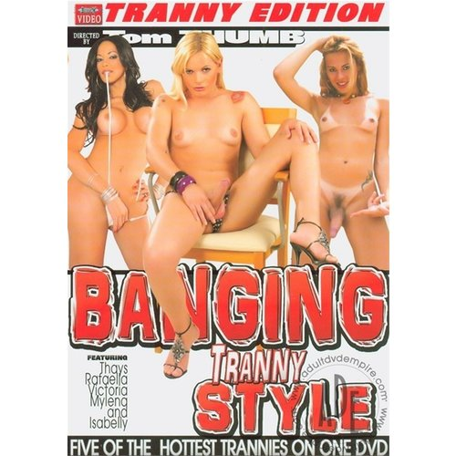 Vibies DVD Banging Tranny Style