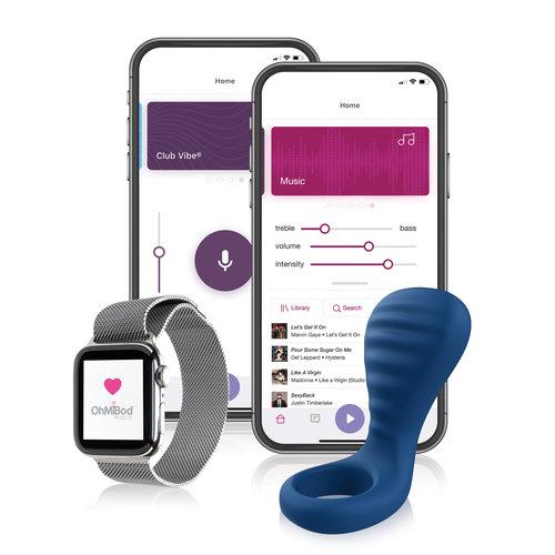 OhMibod blueMotion NEX 3 Bluetooth Partner Cockring