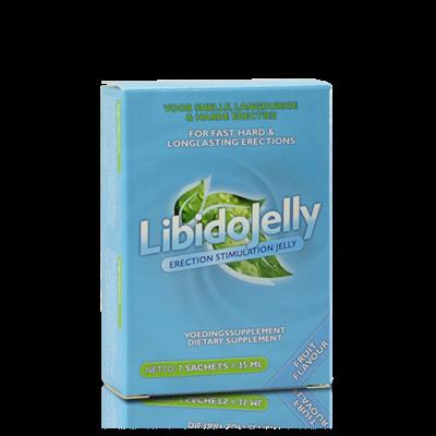 LibidoJelly Oral Jelly Erectie Bevorderend 7 st