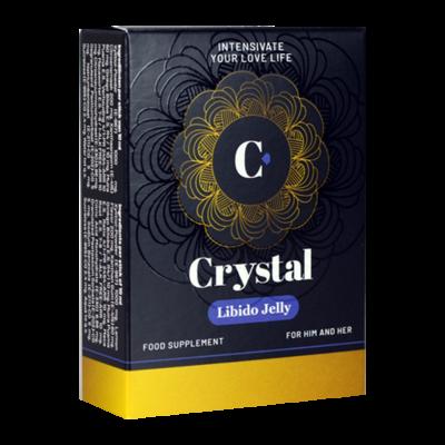 Crystal Libido Jelly Man en Vrouw 5 st