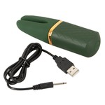 Emerald Love Emerald Love Split Tip Mini Vibrator