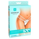 Hookup Elegante G-string met Vibrerende Plug