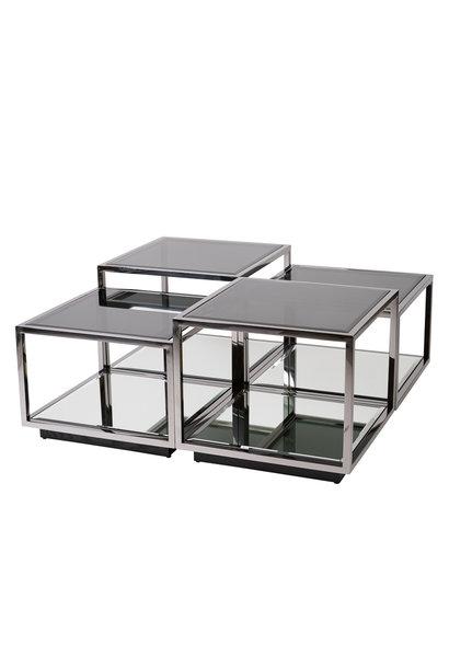 Design Coffee Table Luigi Gun Black (set of 4)