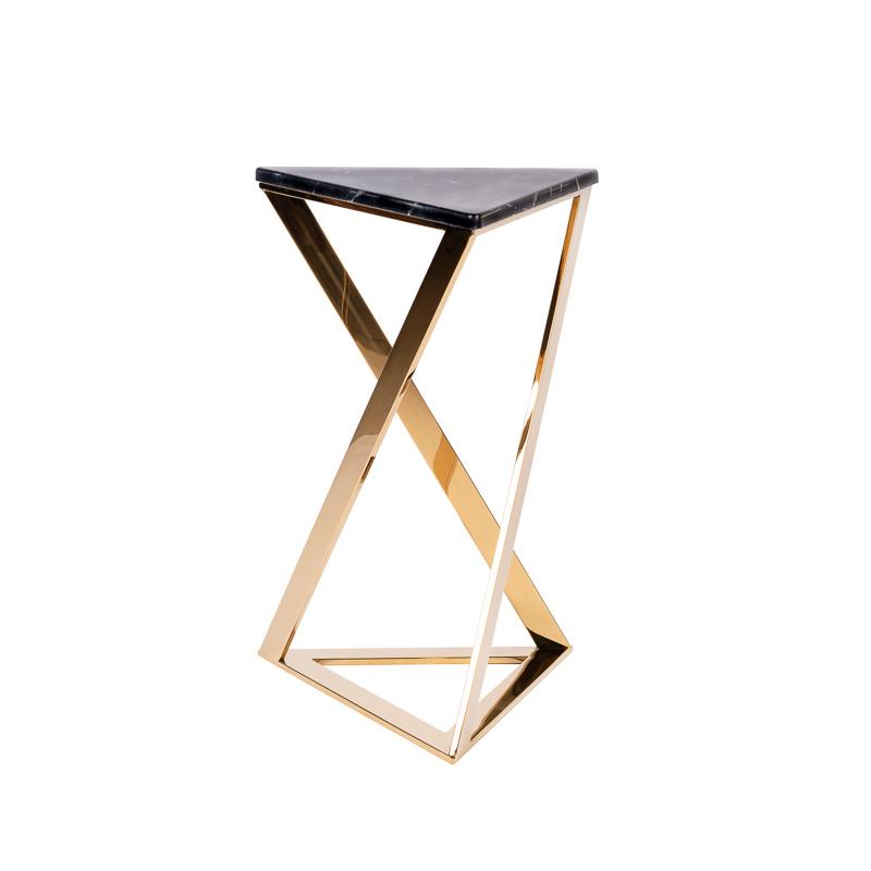 Design Side Table Divani Gold-7