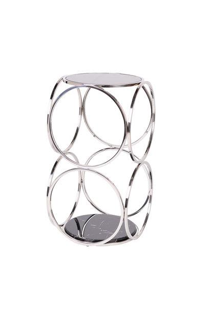 Design Bijzettafel Hutton Zilver