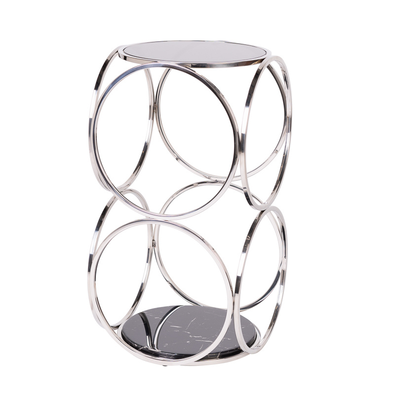 Design Side Table Hutton Silver-1