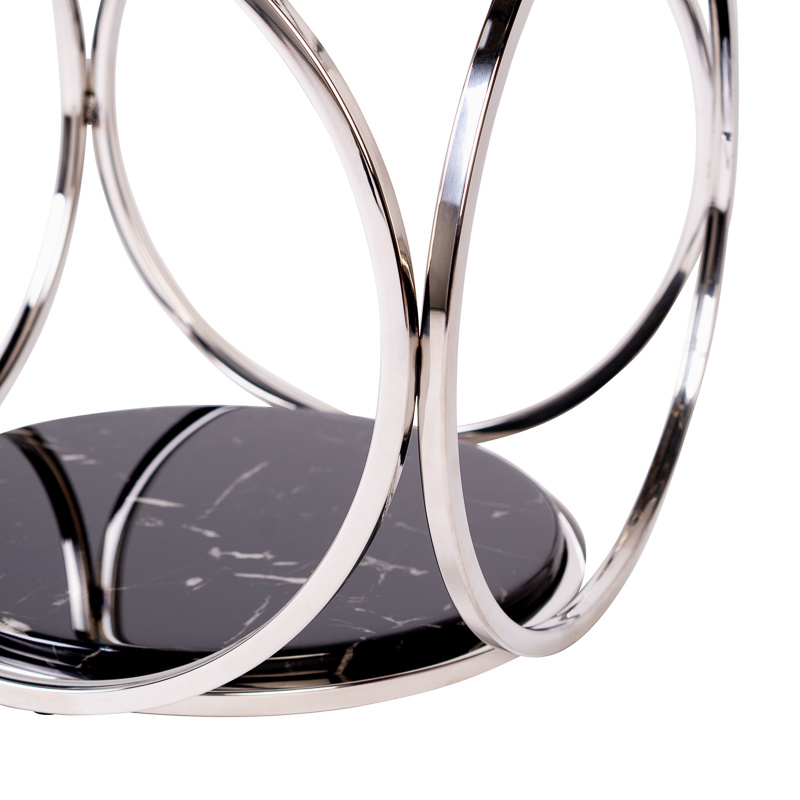 Design Side Table Hutton Silver-3