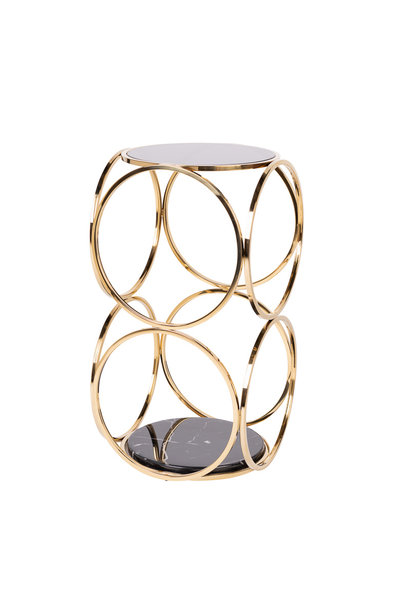 Design Bijzettafel Hutton Goud