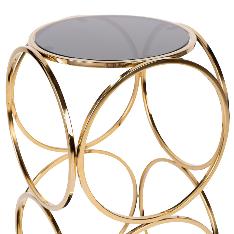 Design Side Table Hutton Gold-2
