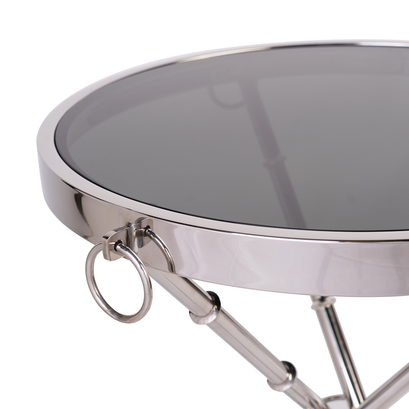Design Side Table Musa Silver-8