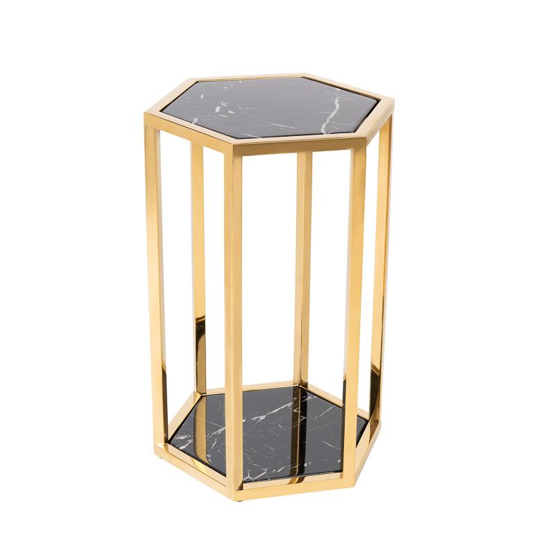Design Side Table Ravello Gold (Set of 2)-7