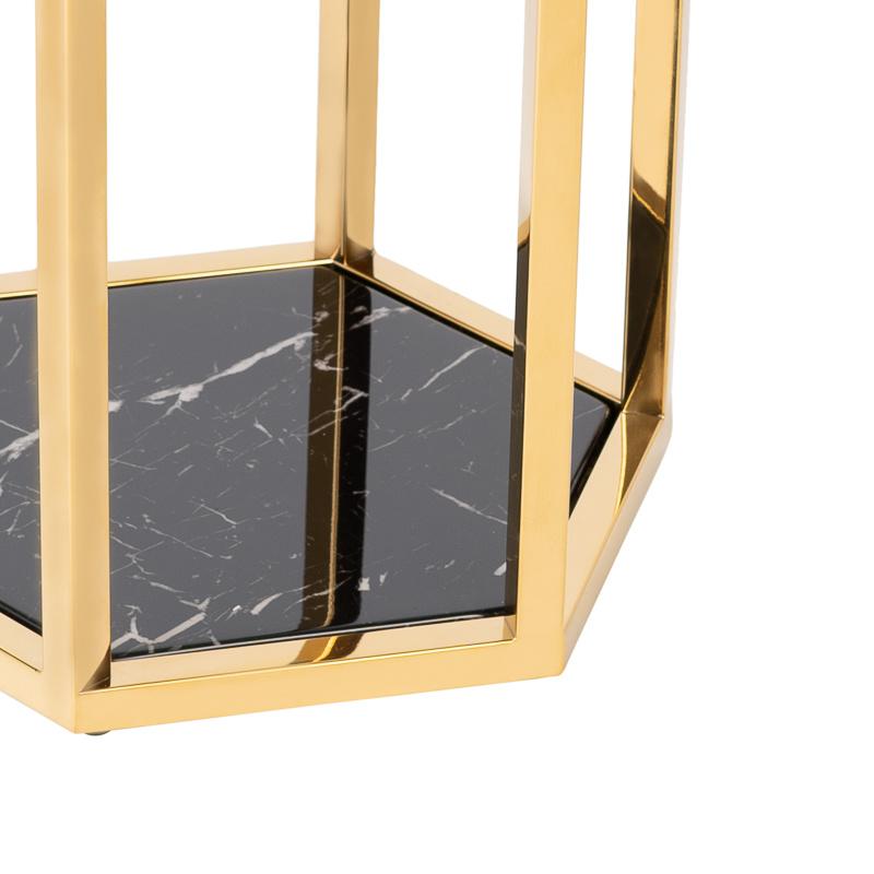 Design Side Table Ravello Gold (Set of 2)-8