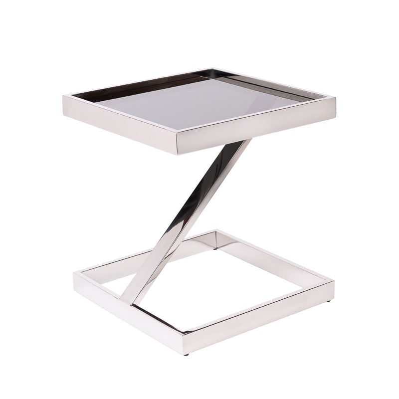 Design Side Table Sala Silver-1