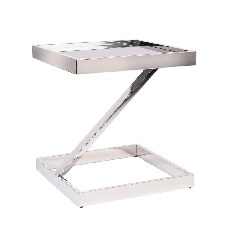 Design Bijzettafel Sala Zilver-7