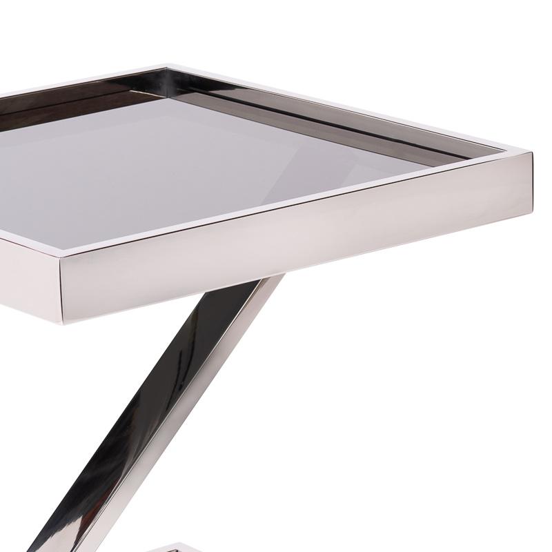 Design Side Table Sala Silver-3