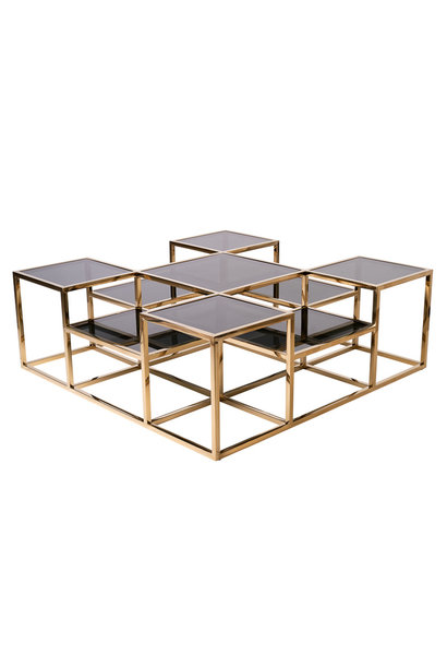 Design Salontafel  Astoria Goud