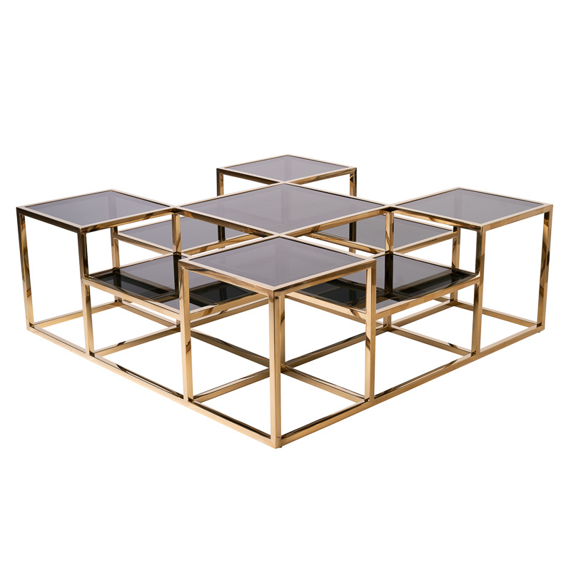 Design Coffee Table Astoria Gold-10
