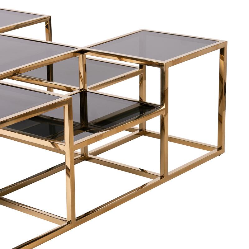 Design Coffee Table Astoria Gold-9