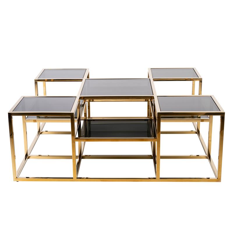 Design Coffee Table Astoria Gold-8