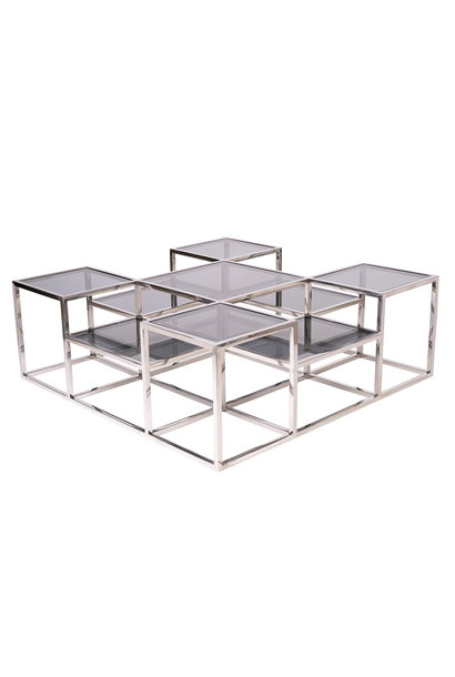 Design Salontafel Astoria Zilver