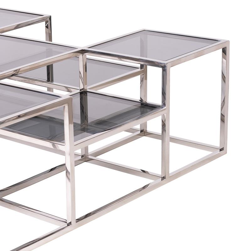 Design Salontafel Astoria Zilver-3