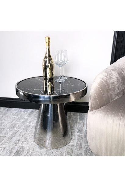 Design Side Table Lunda Black Marble