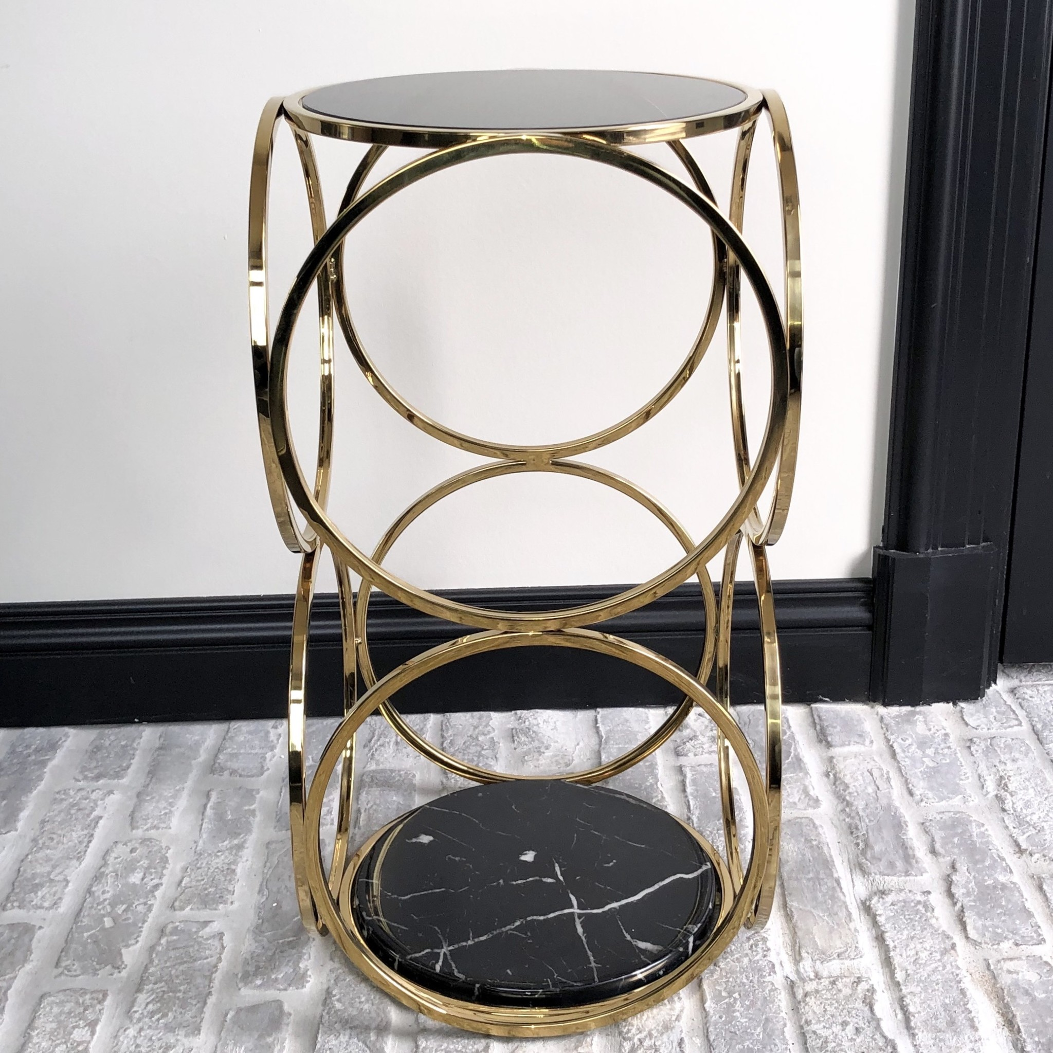 Design Side Table Hutton Gold-3
