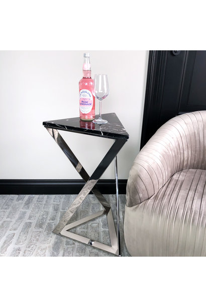 Design Side Table Divani Silver