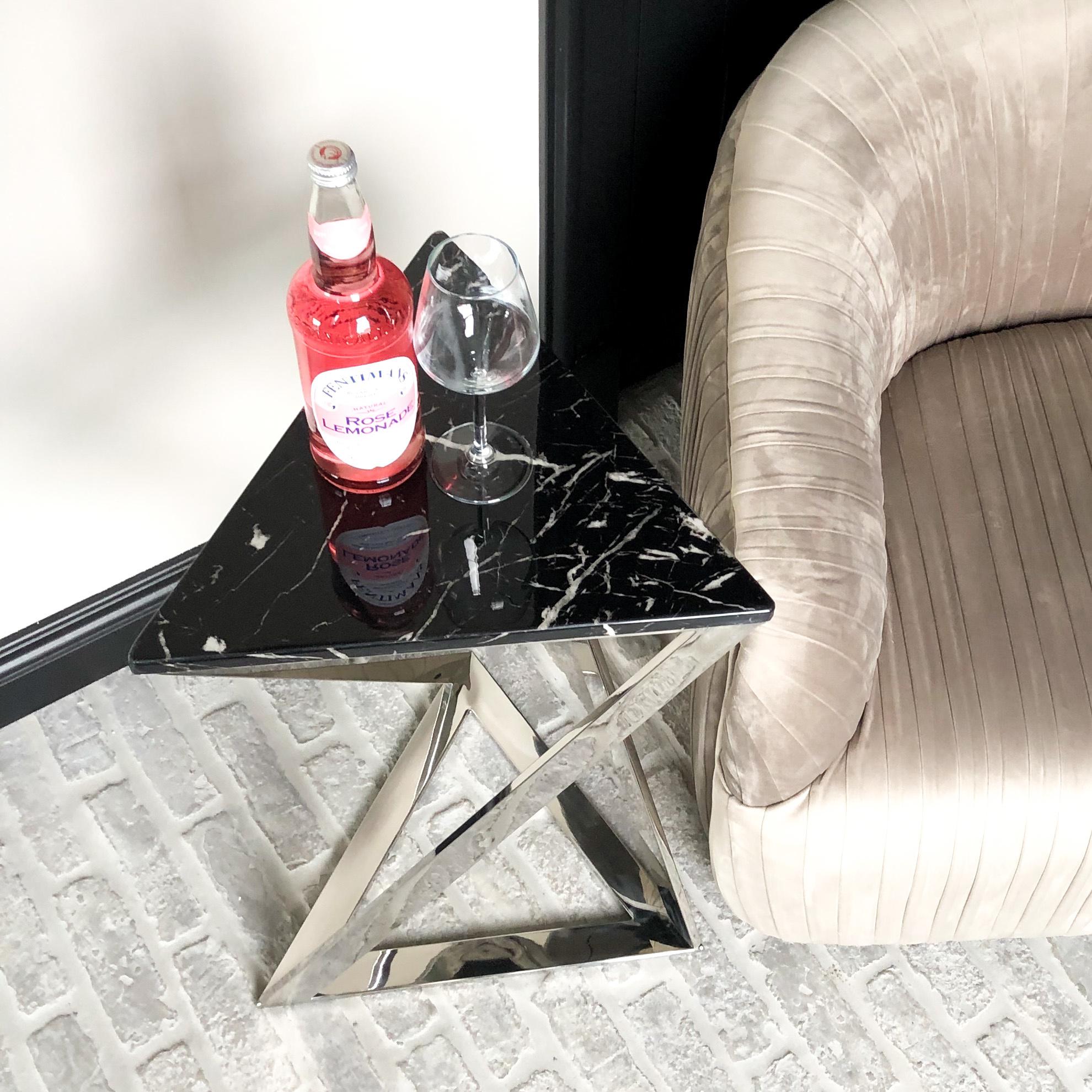 Design Side Table Divani Silver-2
