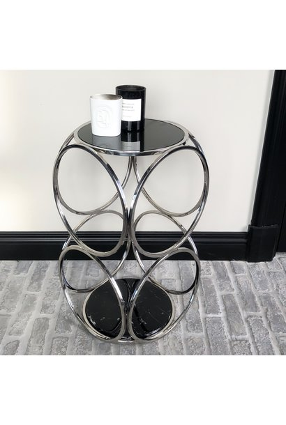 Design Side Table Hutton Silver