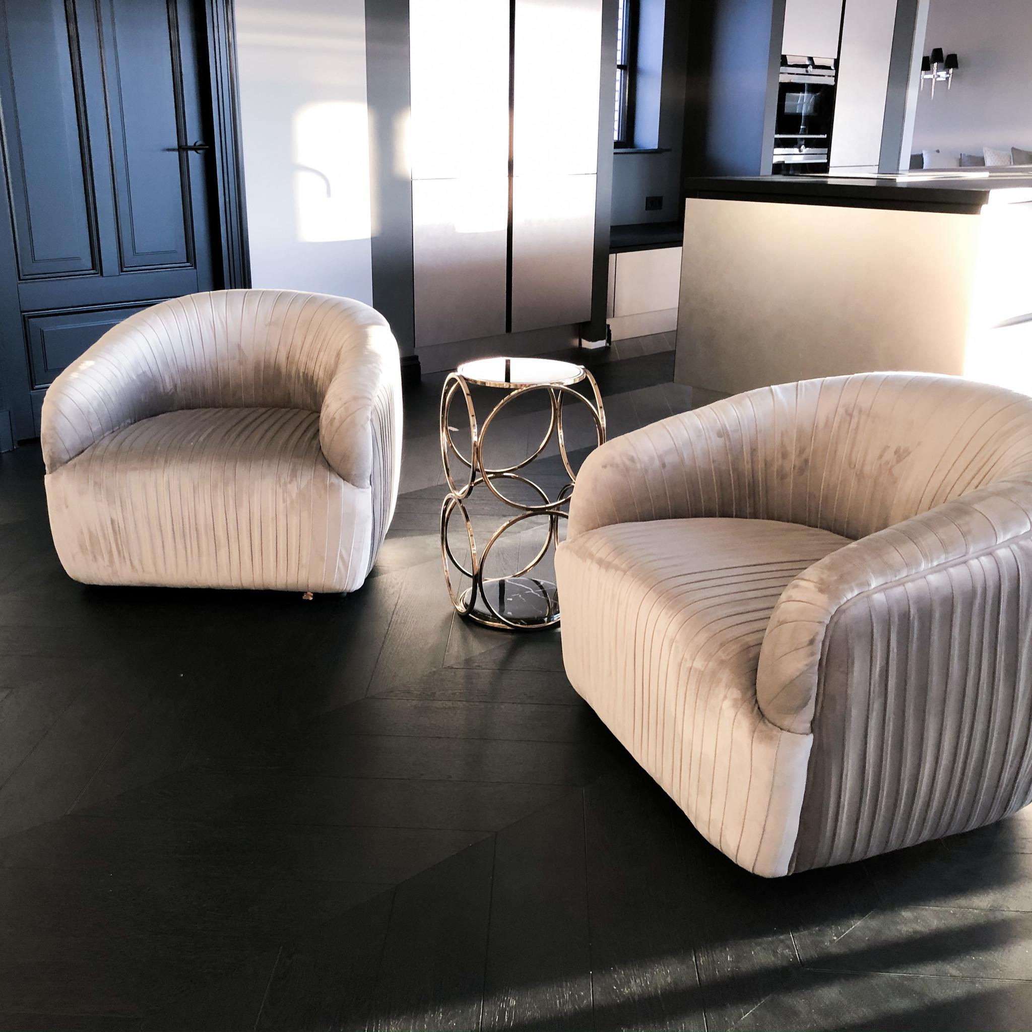 Design Side Table Hutton Gold-5