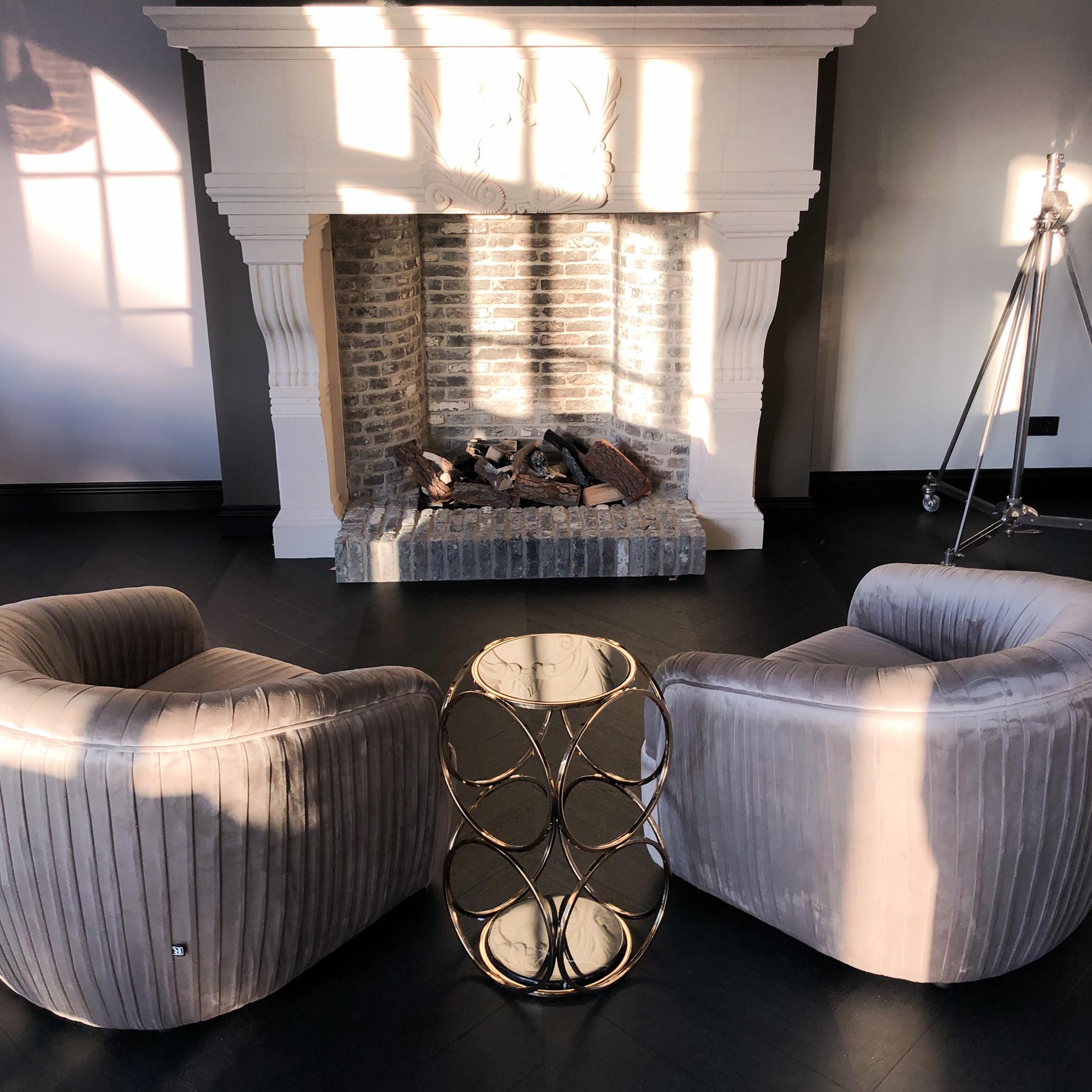 Design Side Table Hutton Gold-7