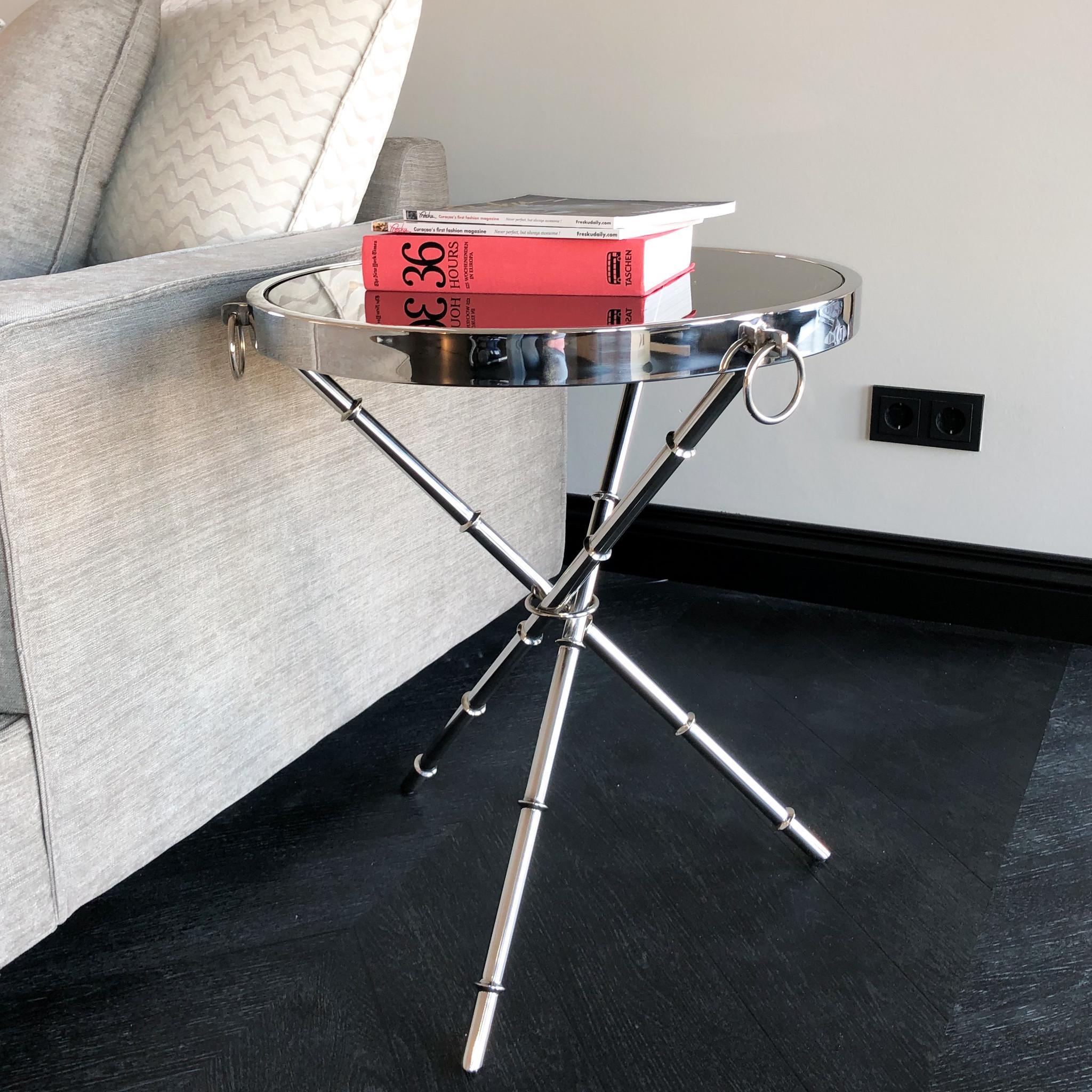 Design Side Table Musa Silver-6