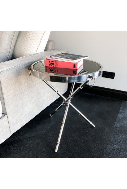 Design Side Table Musa Silver