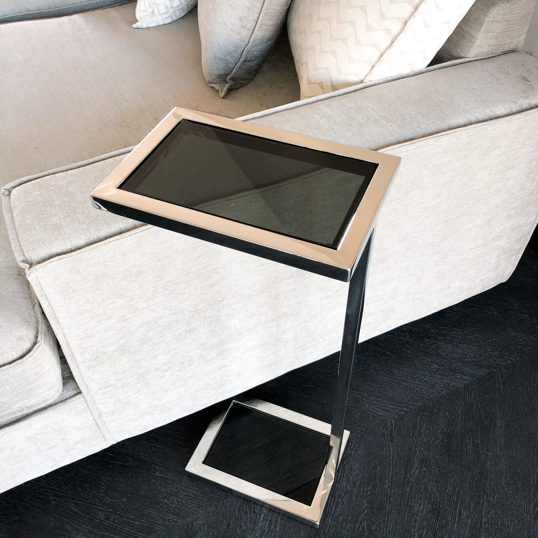 Design Side Table Vicemza Silver-5