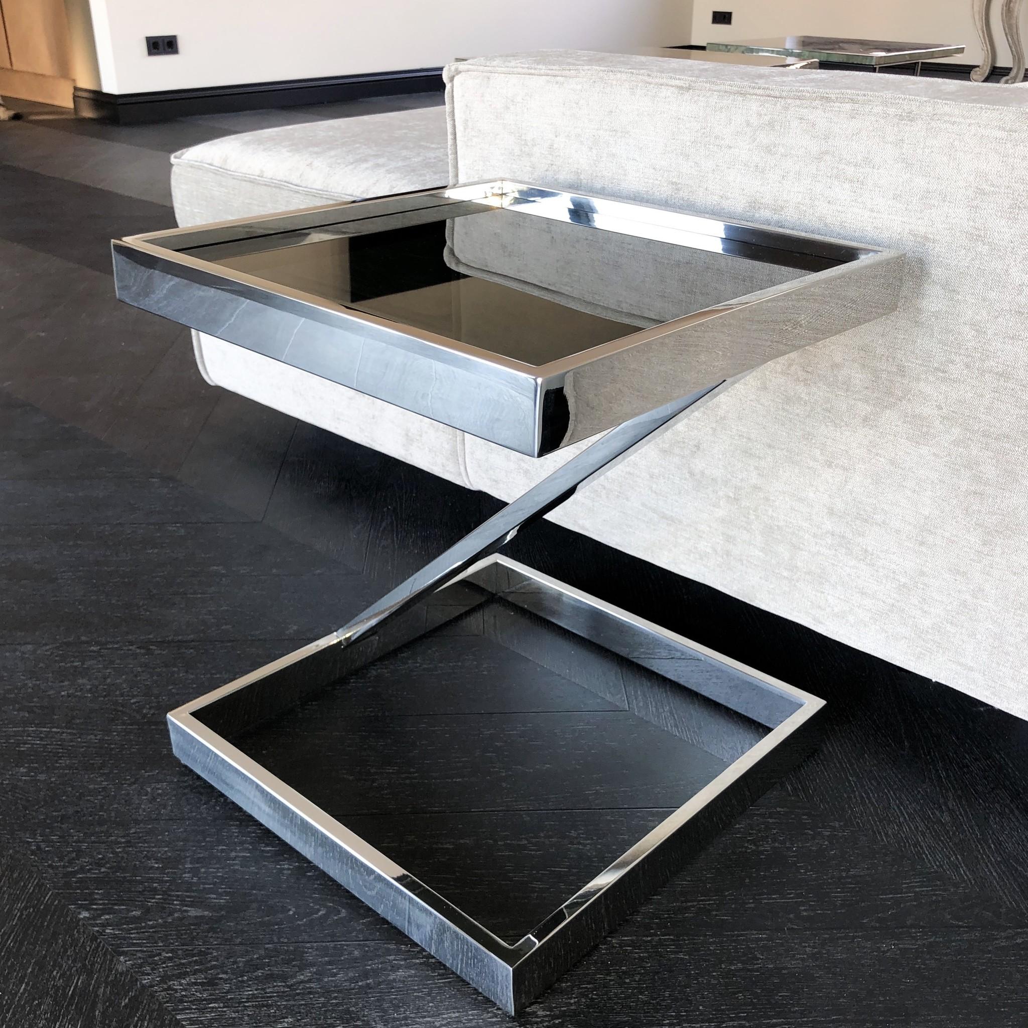 Design Bijzettafel Sala Zilver-3