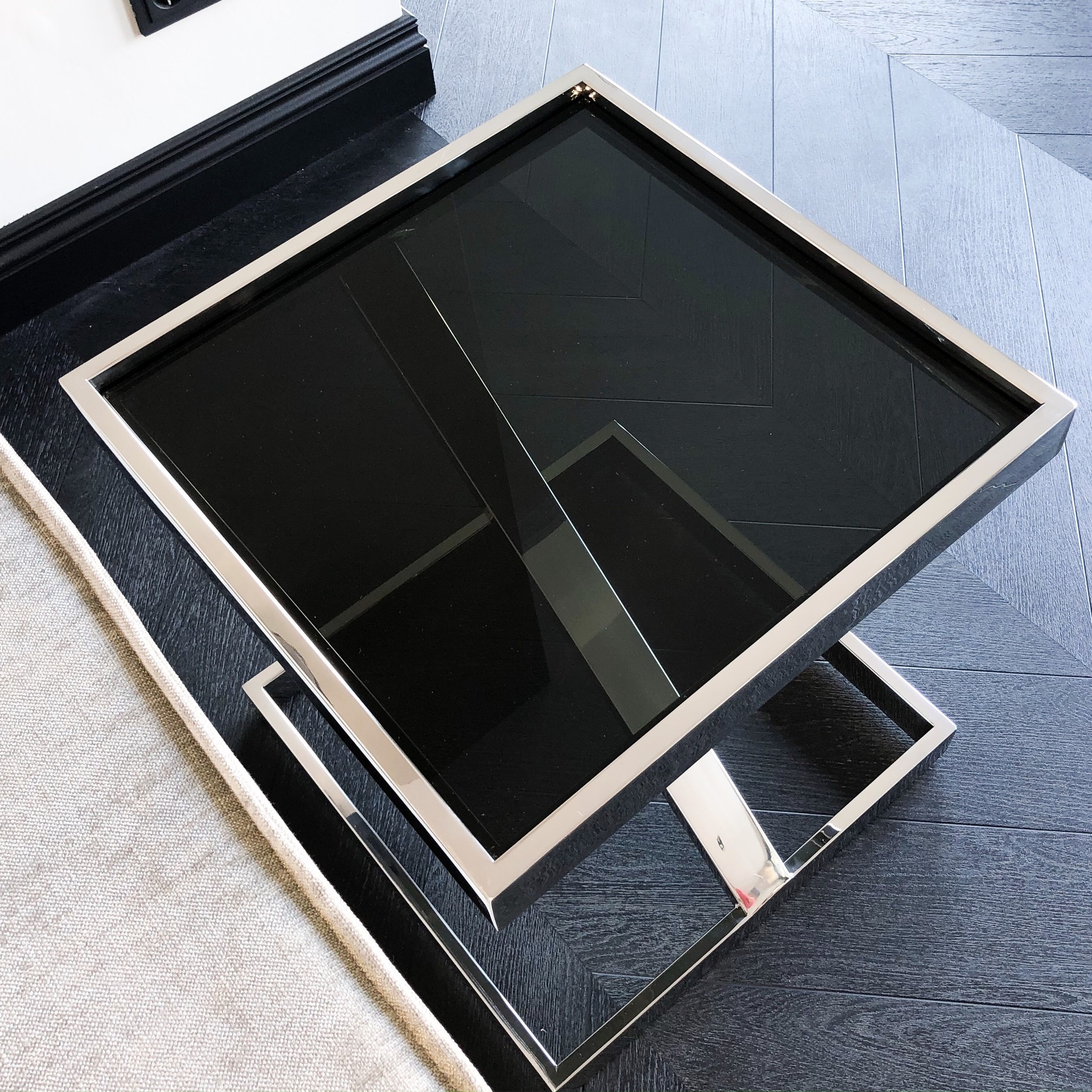 Design Bijzettafel Sala Zilver-5