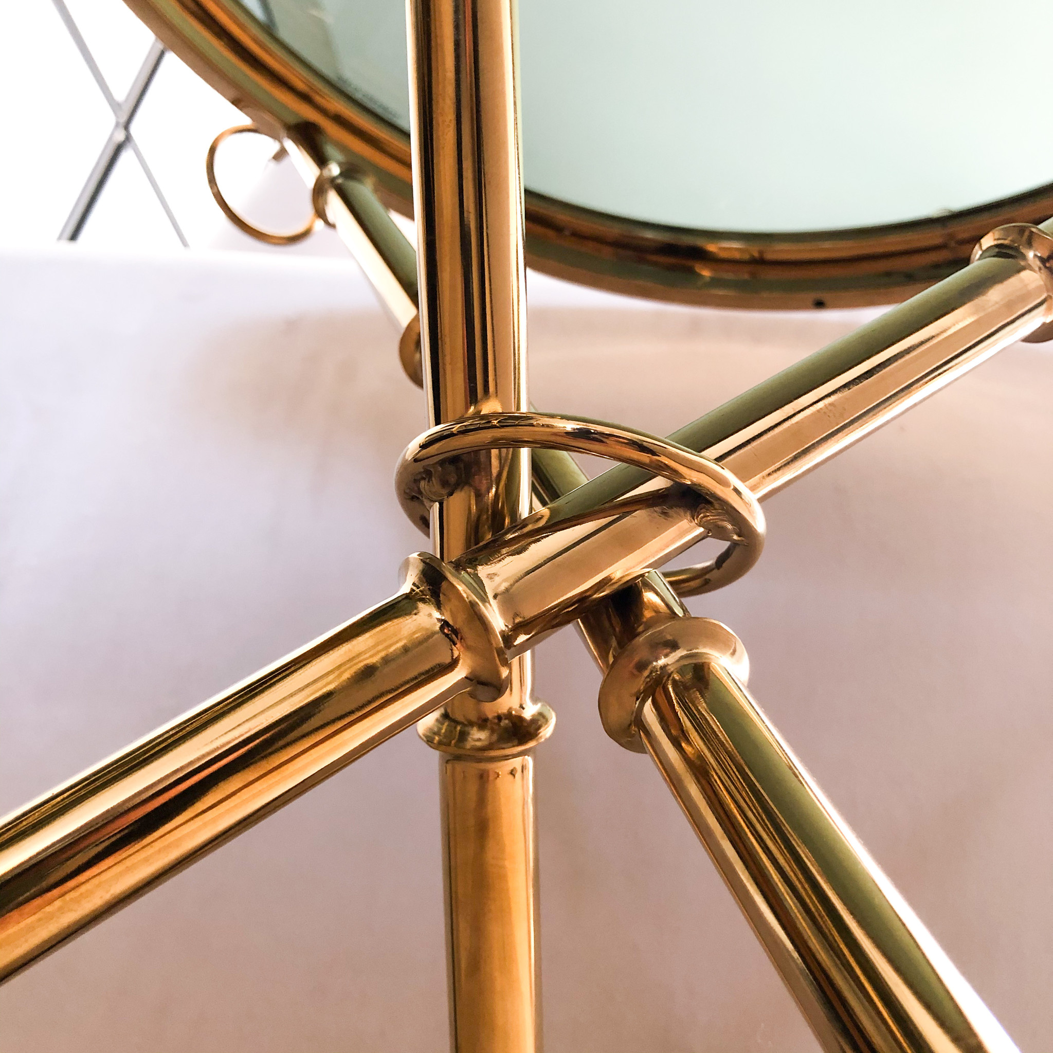 Design Side Table Musa Gold-2